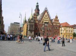 One day in Wrocław, 1) City tour in Wrocław