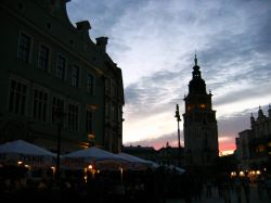 One day in Cracow, 1a) Night tour of Krakow