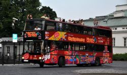 One day in Warsaw, 4) Hop-on & Hop-off bus in Warsaw