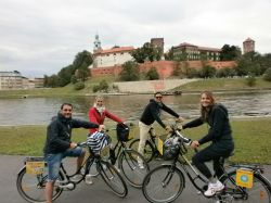 One day in Cracow, 1d) Krakow by bike