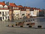 Yacht cruises along Vistula river, Sandomierz