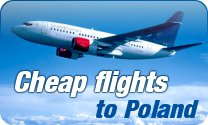 Cheap flights to Poland